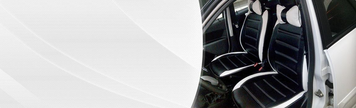 Авточехлы из экокожи 5 990 руб автомобильные чехлы